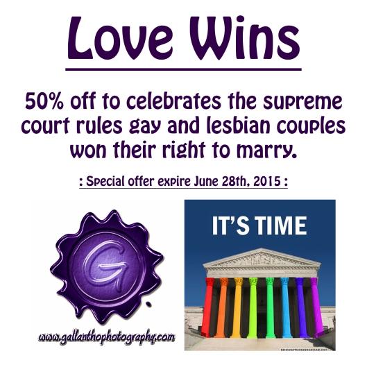 Love wins media